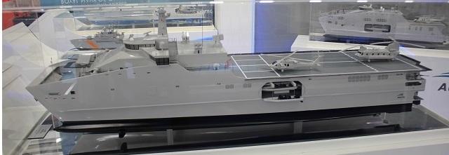 NAVDEX 2017: Austal revelou um novo conceito de navio HSSV esticado e armado para executar diversos tipos de missão