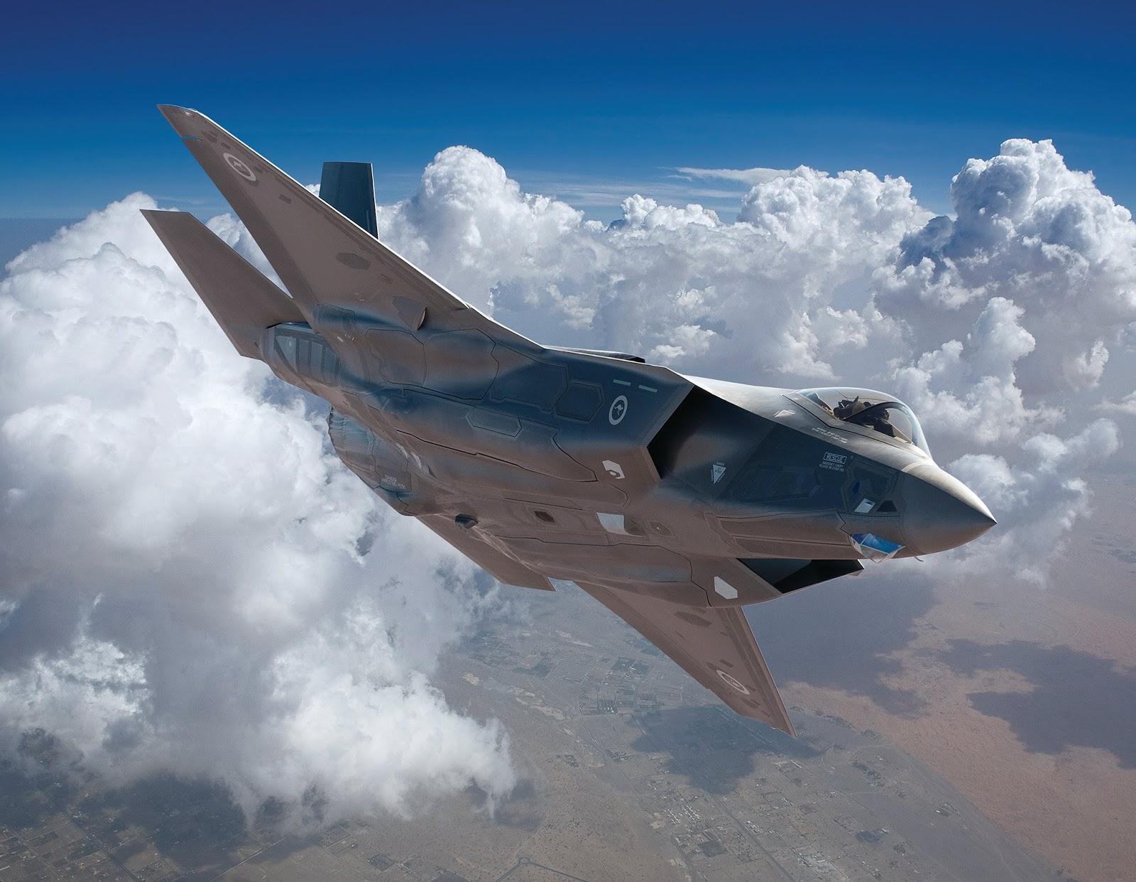 Efeito Trump: Austrália confirma redução do custo unitário do caça F 35