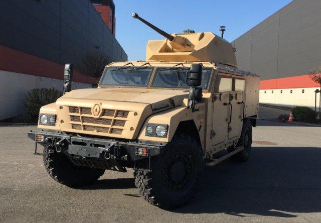 IDEX 2017: CMI/Renault Trucks Defense apresentam o  novo veículo Sherpa Scout SW Fire