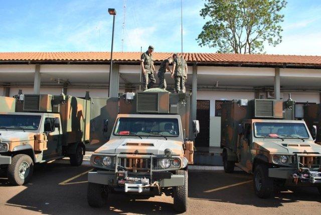 Distribuição de Nós de Acesso: Exército dá mais um passo no sentido de interligar as unidades mobilizadas para o SISFRON