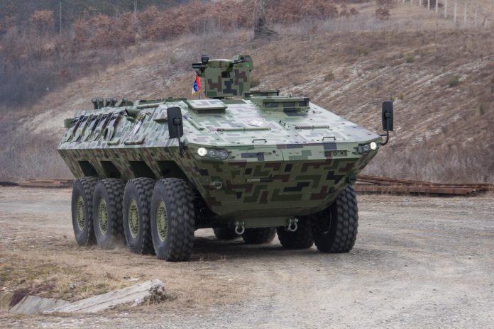 Timoney fornecerá sistemas modulares de direção para os veículos blindados Lazar-3