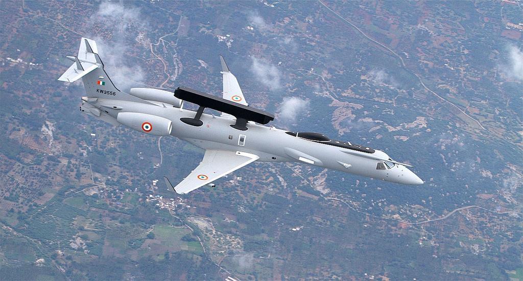 Site indiano diz que as Forças Aéreas do Brasil, de Israel e da África do Sul também mostraram interesse em conhecer o 'Netra' AEW&C