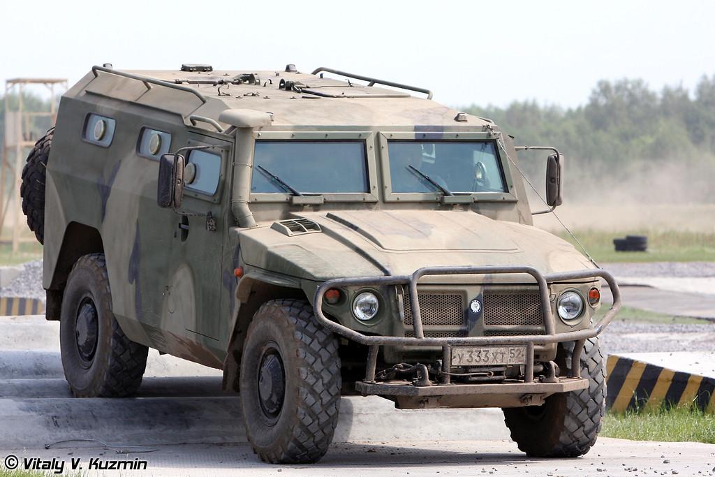AFV-BRASIL: Gorkovsky Avtomobilny Zavod 233114  TIGR-M 4x4