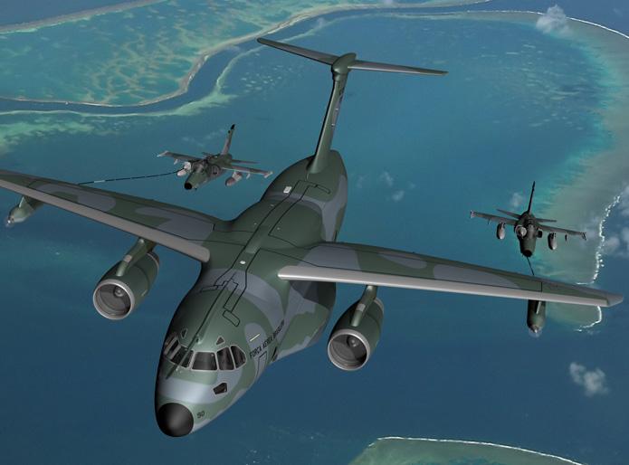 INSIDER/ANÁLISE: Embraer e Boeing começam pela Alemanha a oferta do KC-390 (MRTT) às forças aéreas da Otan