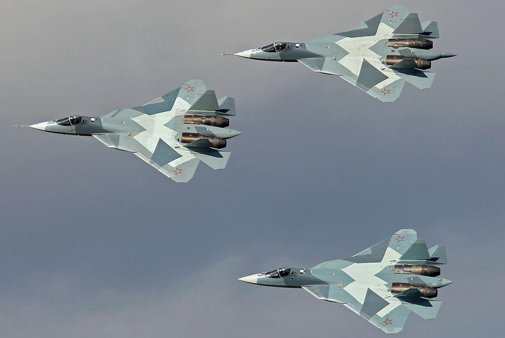 """""""Rússia não tem pressa para adquirir o caça de 5ª Geração T- 50 PAK FA"""""""
