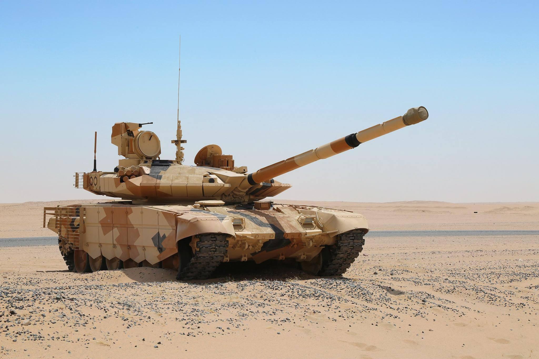 IDEX 2017- Uralvagonzavod  conquista um importante contrato para os carros de combate T-90MS no Oriente Médio