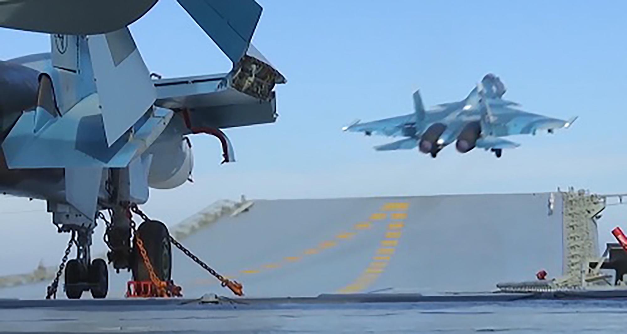 Almirante Kuznetsov e o alto custo para reconquistar Aleppo