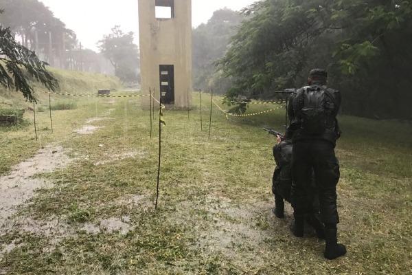 FAB PÉ DE POEIRA:  Militares da FAB iniciam treinamento para Missão de Paz da ONU