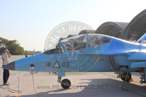Myanmar recebe os três primeiros treinadores Yak-130