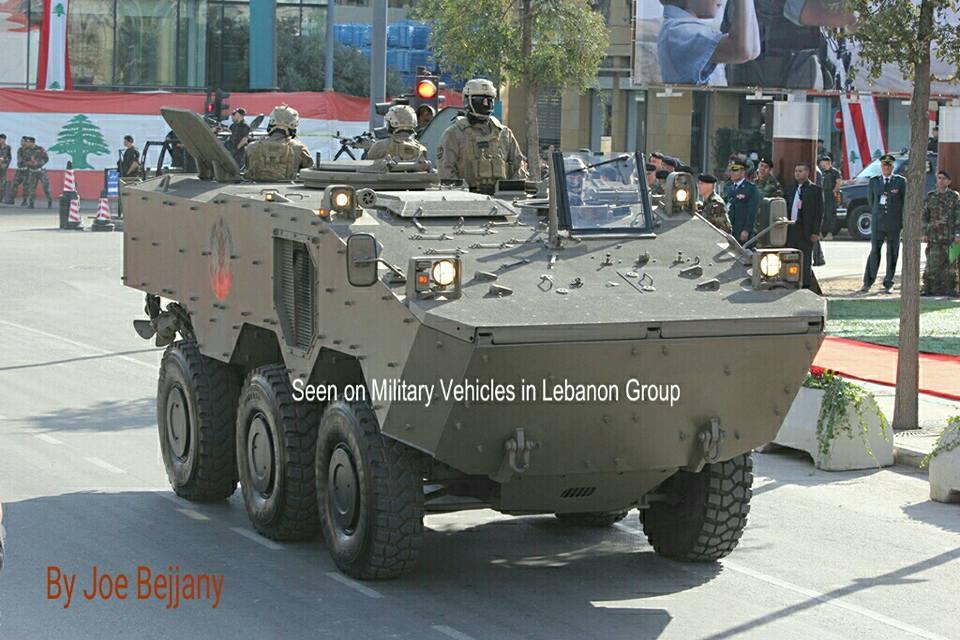 Iveco Guarani faz  sua estréia nas Forças Armadas do Líbano.