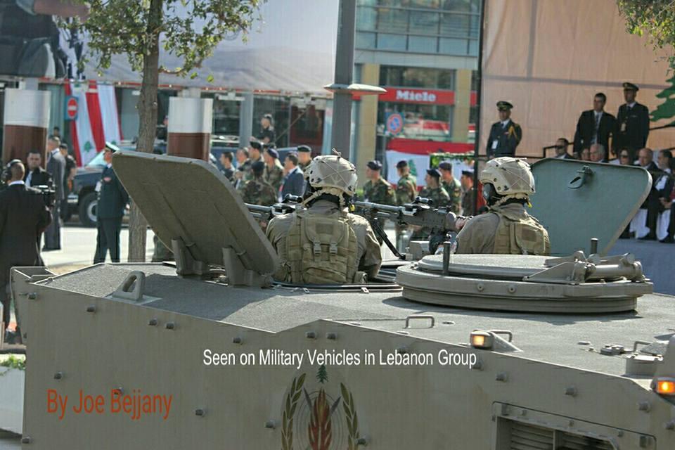 Brasil logra en Líbano el primer contrato de exportación del blindado Guaraní 15241327_10157713933585648_3366895572029195106_n