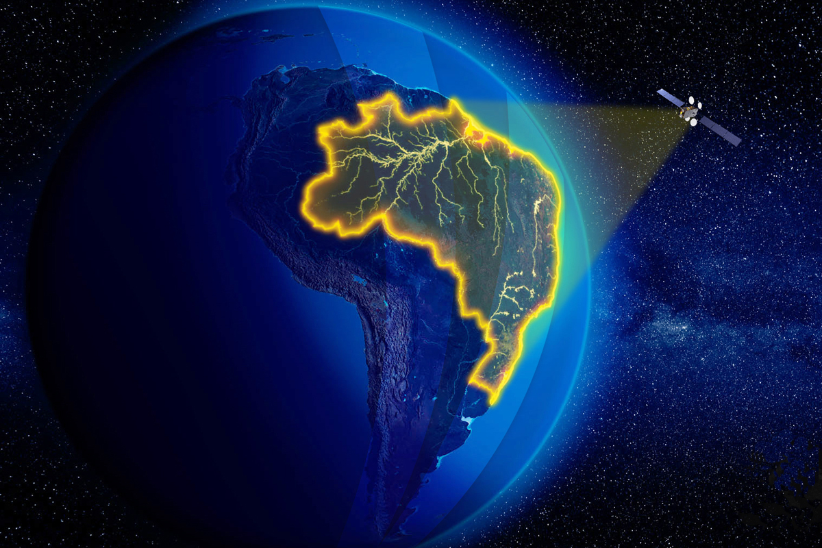 ESPAÇO: Janela de oportunidades se abre para o Brasil com operação do Satélite Geoestacionário