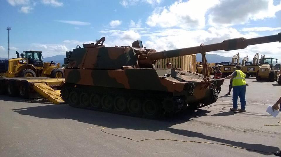 Exército Brasileiro recebe  primeira viatura M109A5+ BR