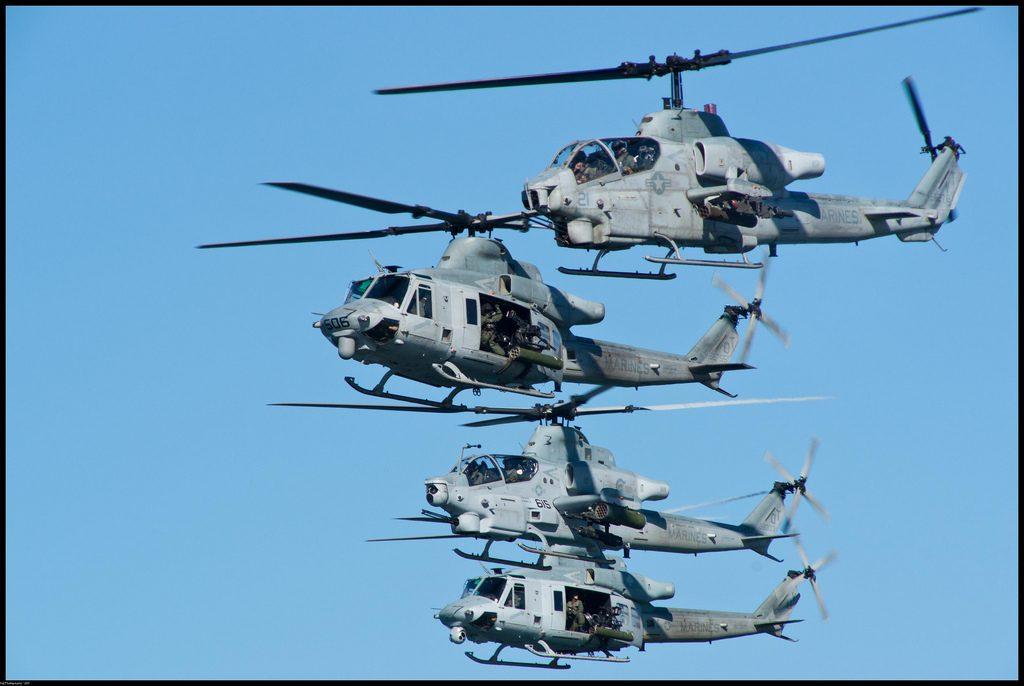 Bell Helicopter apresenta propostas de seus helicópteros AH-1Z e UH-1Y Venom para a Austrália