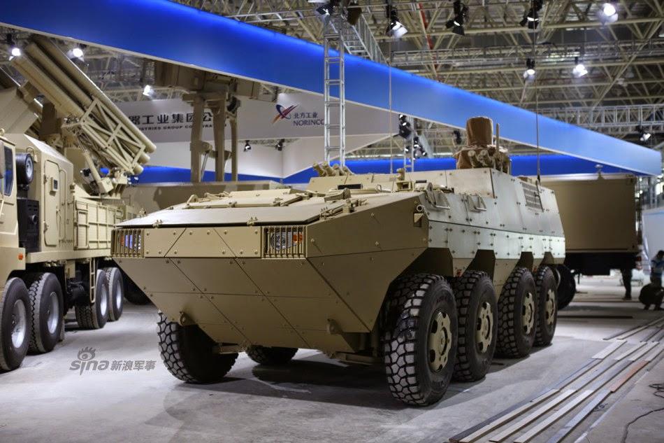 MERCADO DE BLINDADOS: Tailândia adquire  34 veículos blindados 8×8 VN-1 da China.
