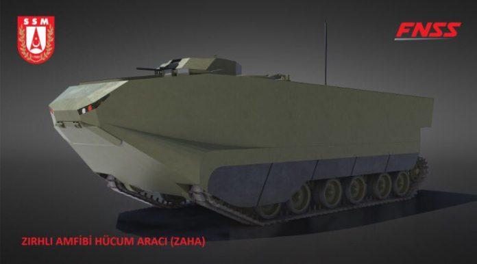 MERCADO DE BLINDADOS: Turquia assina contrato com a FNSS para o desenvolvimento de um novo veiculo blindado de assalto anfíbio.