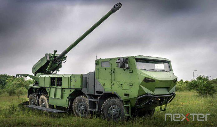 Dinamarca seleciona obuseiro autopropulsado  CAESAR ( CAmion Equipé d'un Système d'Artillerie )  da Nexter