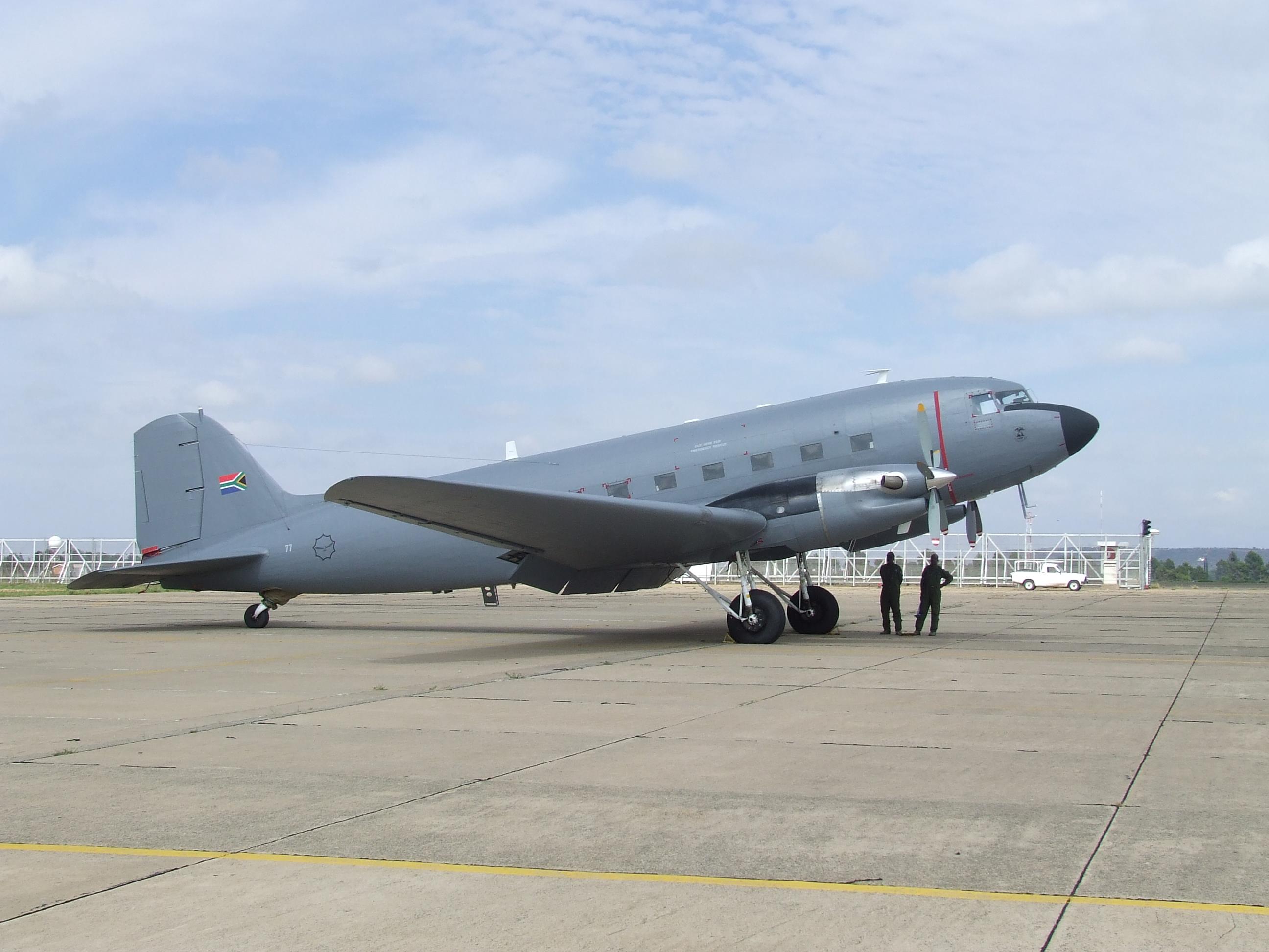 Capacidade zero! Força Aérea Sul-Africana admite que todos os seus velhos bimotores de patrulha marítima estão inoperantes