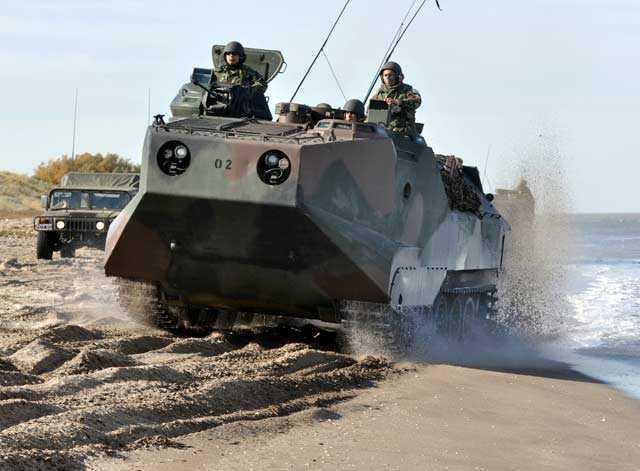 Modernização dos veículos de assalto anfíbio AAV-7 VAO da Argentina