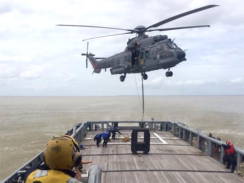 2º Esquadrão de Helicópteros de Emprego Geral apoia atividades na área do Com4ºDN