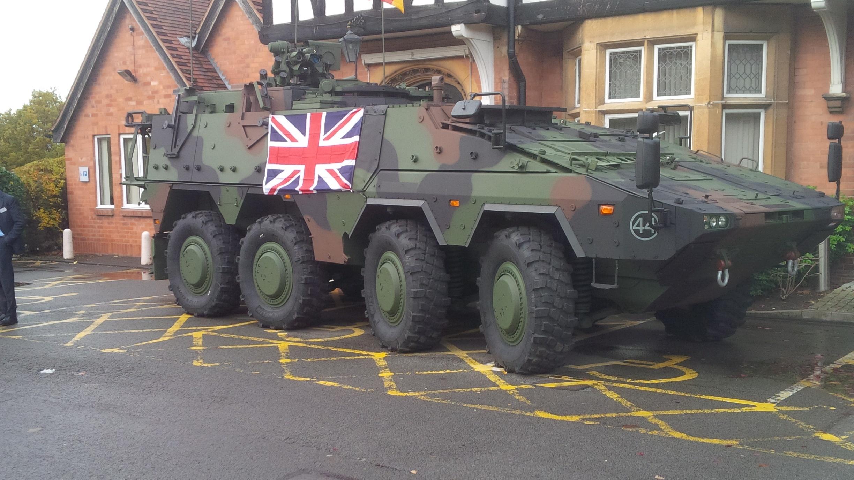 MERCADO DE BLINDADOS: Fabricantes apresentam suas propostas para o Programa MIV do Exército Britânico