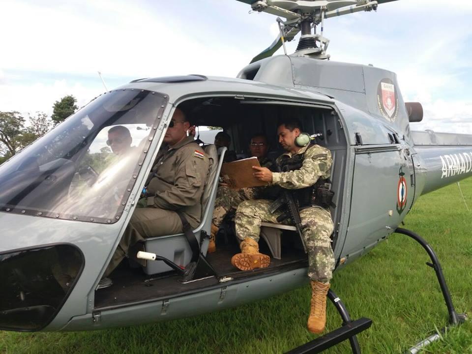 GALERIA: Esquilo da Marinha paraguaia que passou mais de um ano parado (!) é recuperado para combater os bandoleiros do EPP