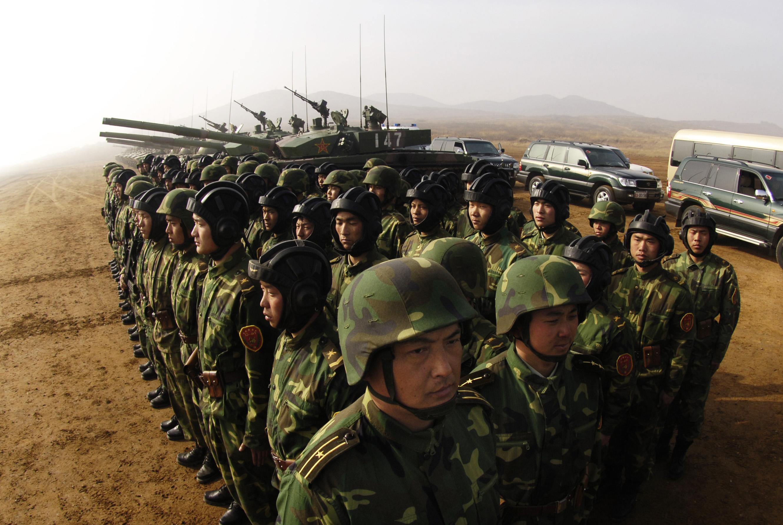 Soldados chineses entraram no Afeganistão