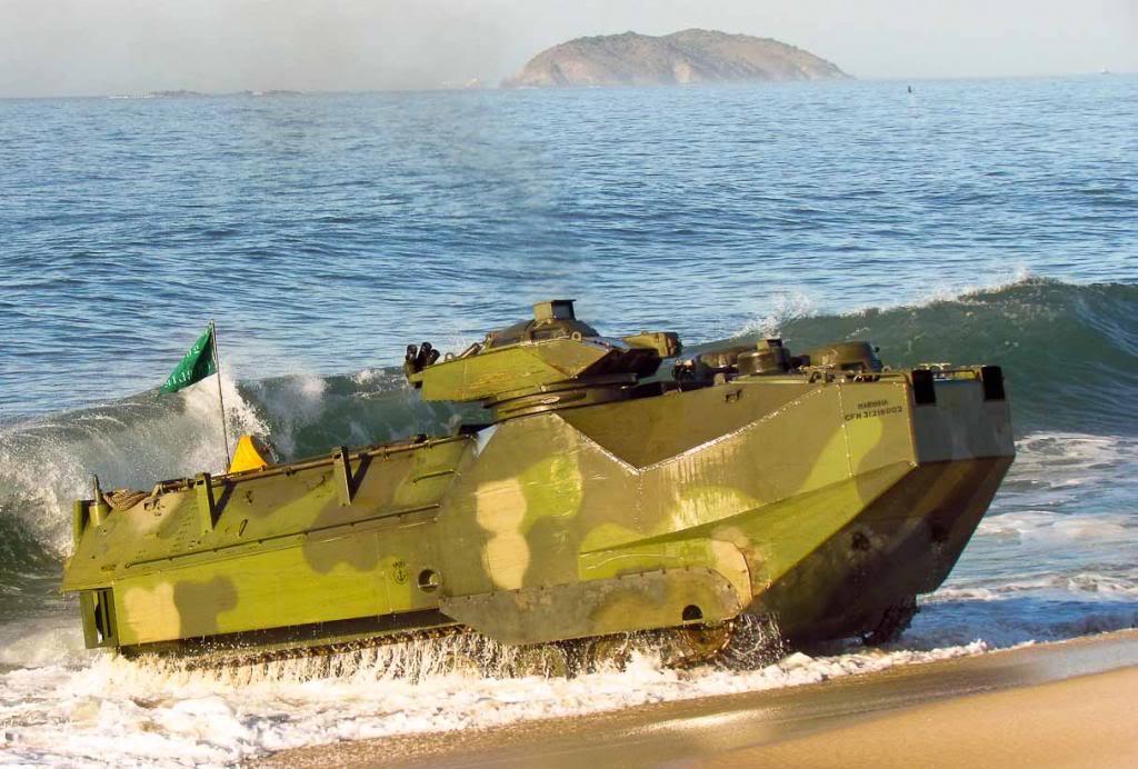 ADSUMUS: Corpo de Fuzileiros Navais da Marinha do Brasil receberá em breve novas viaturas AAV7A1