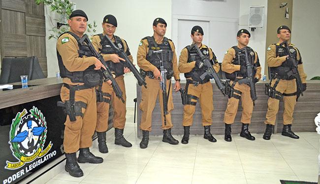 Polícia Militar do Paraná (PMPR) recebe mais um lote de fuzis IMBEL IA2 calibre 5.56×45mm