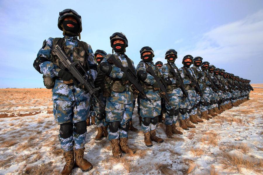 China planeja expansão do seu Corpo de Fuzileiros Navais.