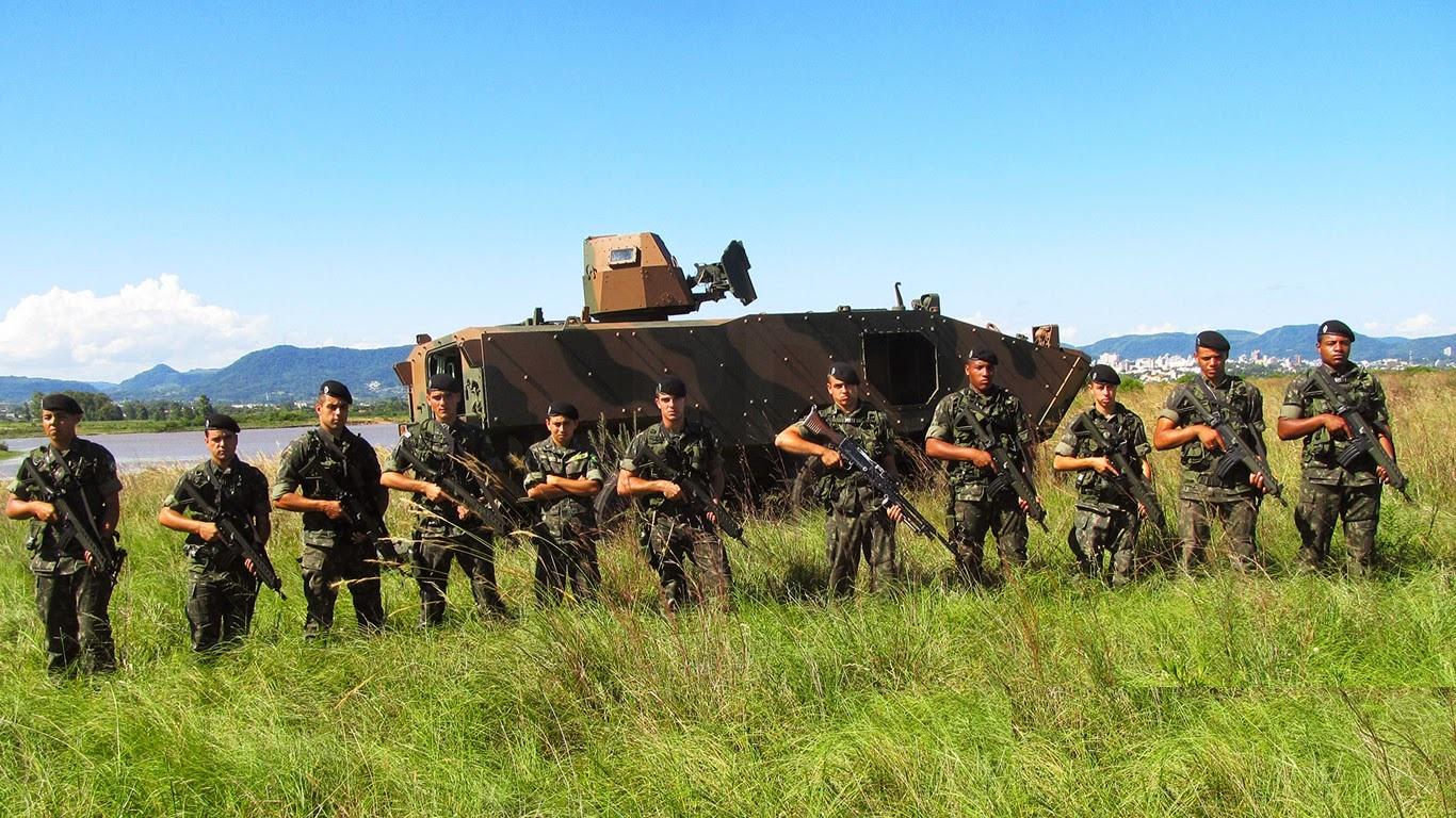 Plano Brasil Analise: O Fuzil Imbel  IA2 como armamento de dotação dos fuzileiros blindados no combate de 4ª geração