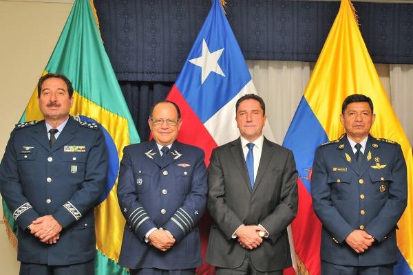 COOPERAÇÃO: Brasil, Chile, Equador e Colômbia vão trocar informações logísticas sobre A-29
