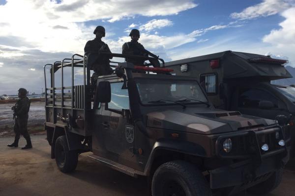 FAB PÉ DE POEIRA: Infantaria da Aeronáutica encerra participação em operações de GLO no Espírito Santo
