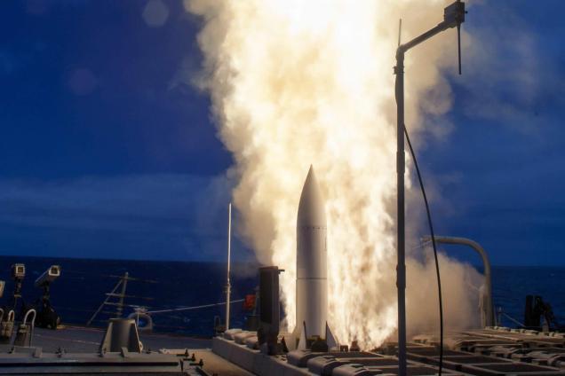 Plano Brasil/ Tecnologia: Raytheon Standard Missile 6 (SM-6)