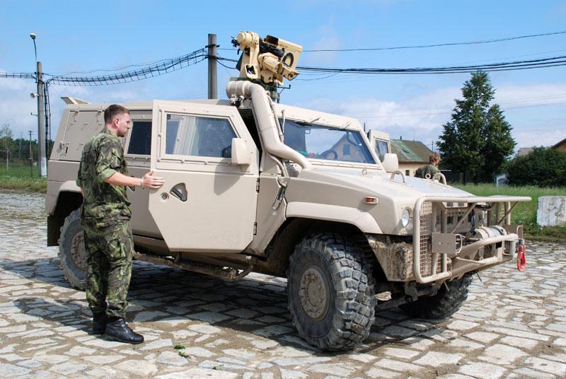 Eslováquia pretende adquirir novos veículos blindados sobre rodas para seu Exército
