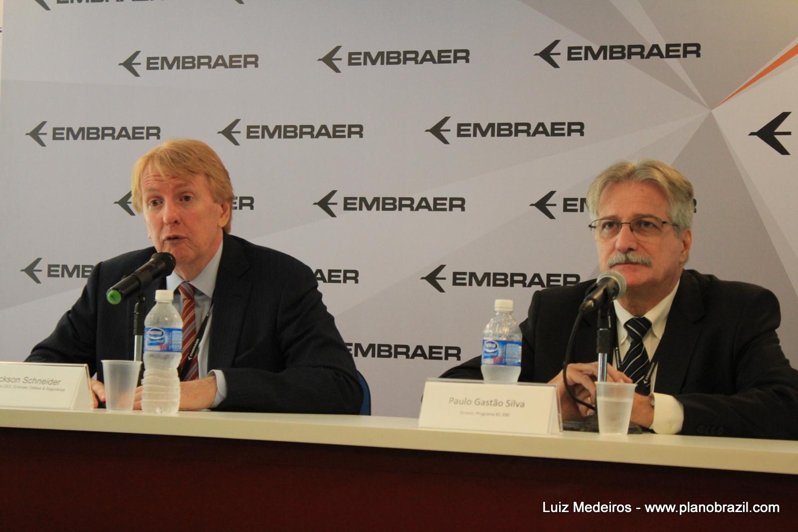 LAAD 2017: Coletiva de Imprensa - Embraer e o andamento do programa KC-390