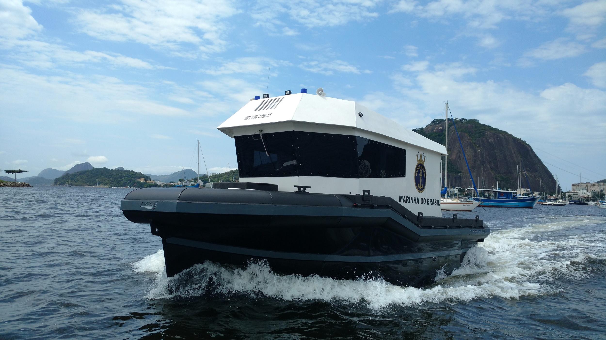 DGS lança embarcação dedicada ao levantamento de dados hidroceanográficos