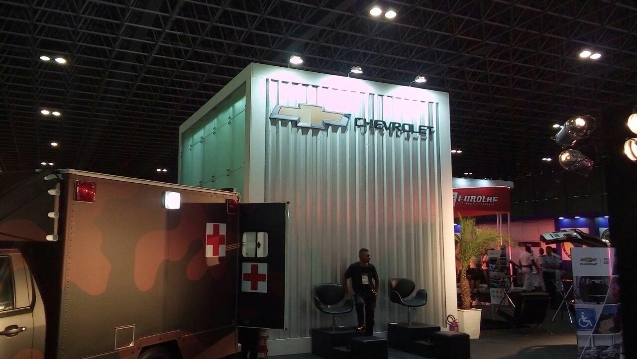 LAAD 2017: Chevrolet do Brasil aposta em veículos para fins militares e segurança Pública