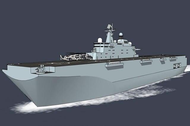 Na tentativa de se equiparar à 'US Navy', Marinha da China anuncia: terá seu primeiro porta-helicópteros de assalto anfíbio dentro de dois anos