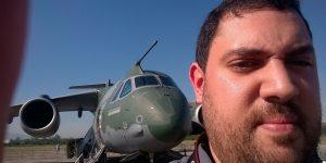 LAAD 2017: Daqui a pouco Luiz Medeiros e Plano Brasil no KC-390 da Embraer