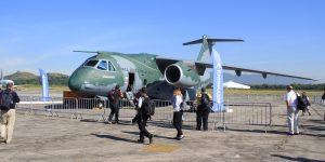 LAAD 2017: Visita ao KC 390