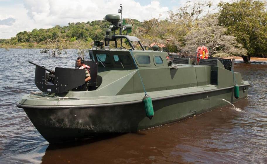 Marinha Colombiana incorpora mais duas unidades das lanchas de combate LPR-40 Mk2