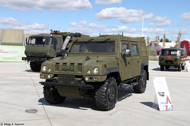 Tropas Aerotransportadas da Federação Russa receberão em breve veículos blindados 4×4 LMV
