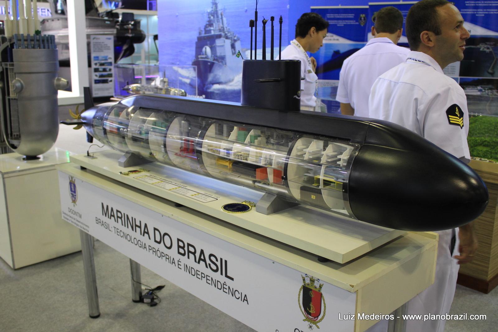 Protótipo do Submarino nuclear ficará pronto em 3 anos, afirma Marinha...