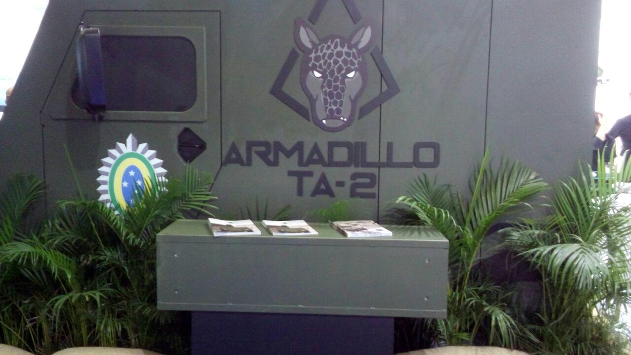 LAAD 2017: Oportunidade para novos projetos como o ARMADILLO TA-2 da MACJEE