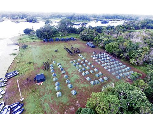 ADSUMUS: 1º Batalhão de Operações Ribeirinhas realiza adestramento de equipe