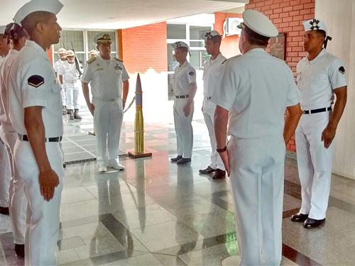 ADSUMUS: CIAMPA recebe visita do Comandante-Geral da Armada Boliviana
