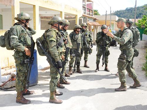 ADSUMUS: Fuzileiros Navais encerram preparação de grupamento para o Haiti