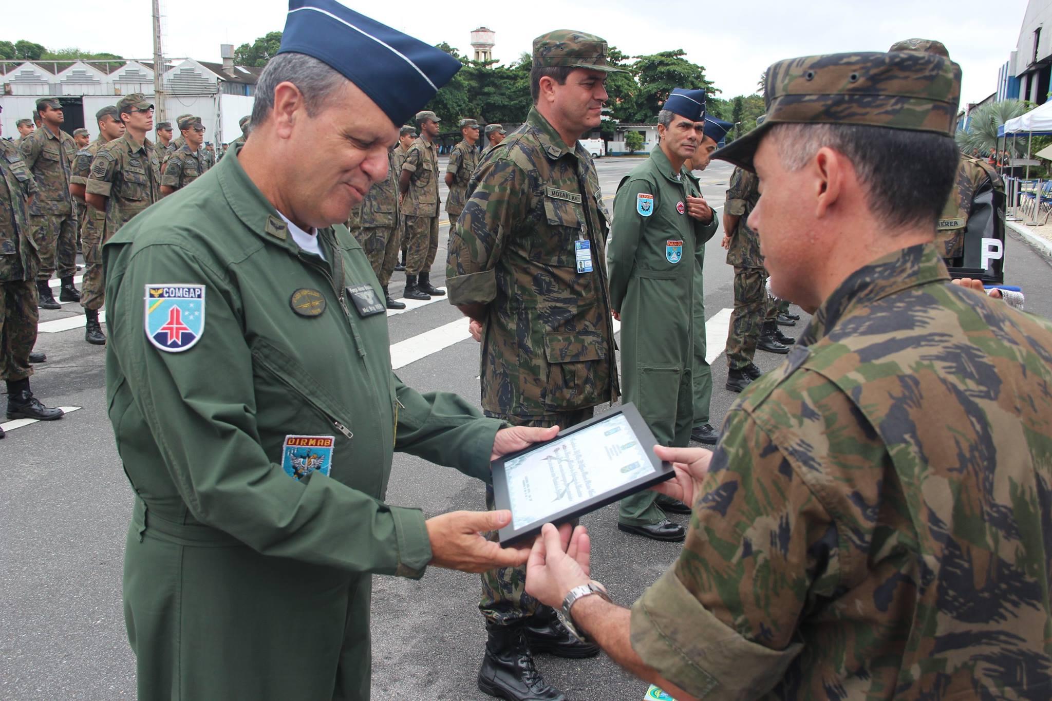FAB PÉ DE POEIRA: Grupo de Segurança e Defesa da ALA 11 comemora  seu décimo segundo aniversário.
