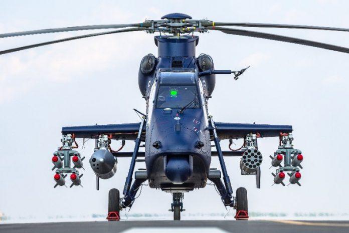 China realiza primeiro voo do helicóptero de combate Harbin Z-19E